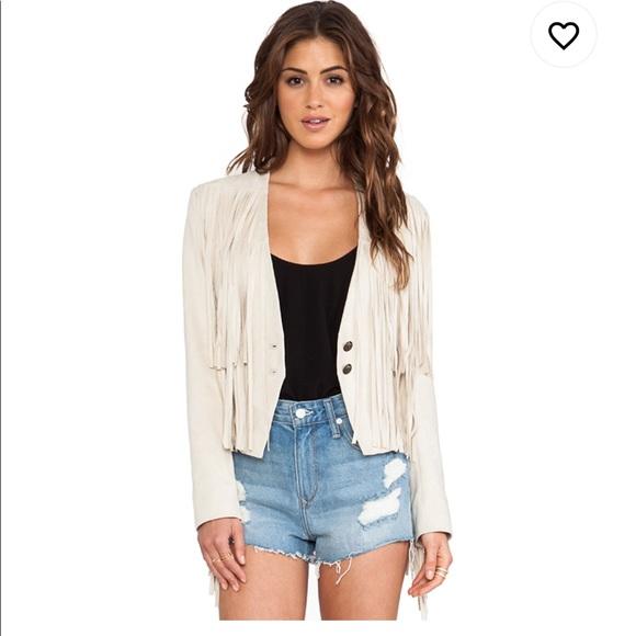 Tularosa Jackets & Blazers - Tularosa Knox Fringe Jacket